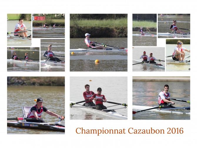 Championnat de France, Cazaubon 2016