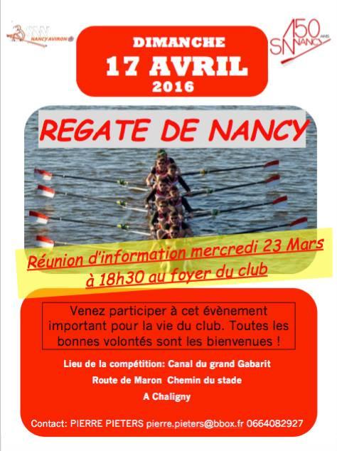 Régate de Nancy