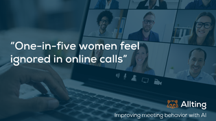 Do you hear me?: The problem of gender, inequality, and online meetings