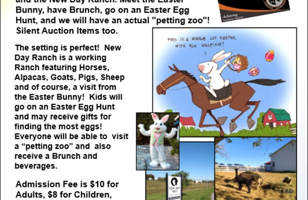 A New Day with the Bunny and Brunch