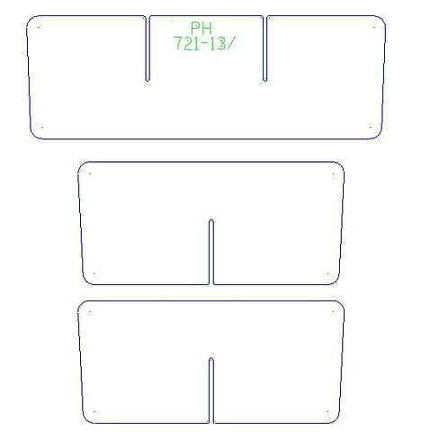 Phoenix 921 Rear Box Organizer 2sets ( both sides)