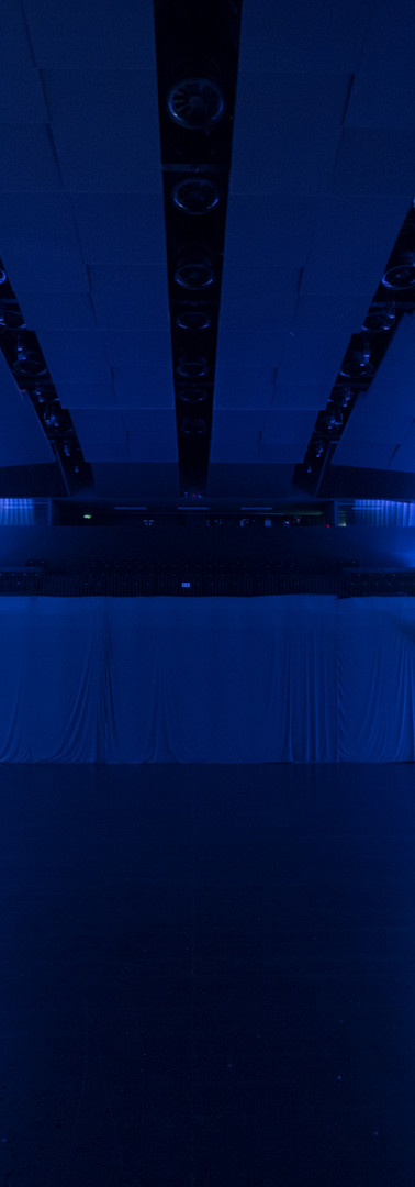 Auditorium without seats