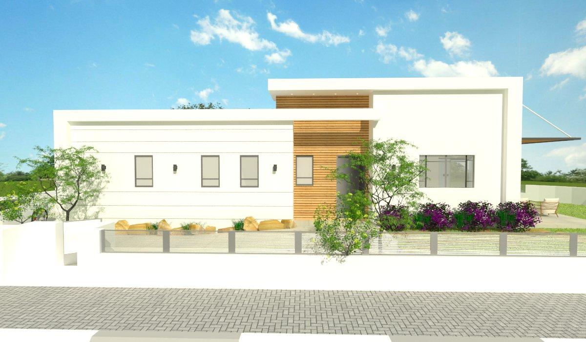 תכנון בית פרטי בשדרות