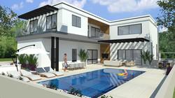 תכנון בית פרטי בברנע ב' באשקלון