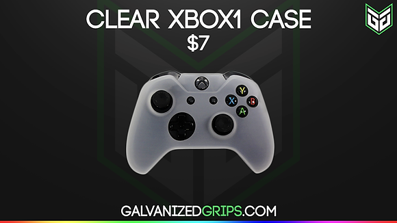 CLEAR GALVANIZED GRIPS XB1 CONTROLLER SKIN
