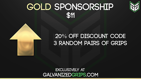 Gold Sponsorship Upgrade