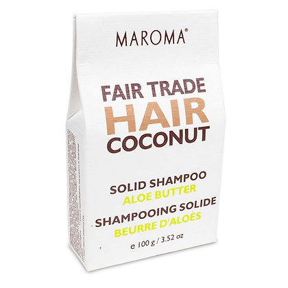 Shampoing solide - Noix de coco & Beurre d'Aloès - 100gr
