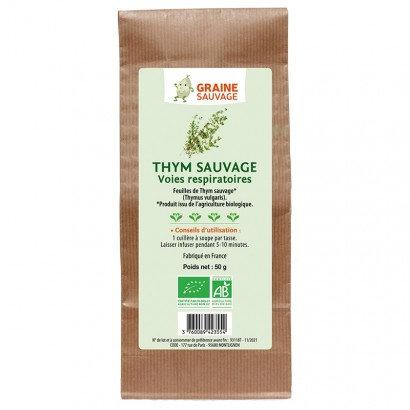 Tisane Thym sauvage BIO - 50g