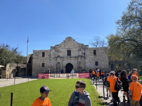 17. The pride of the Texan, the Alamo! (EN)