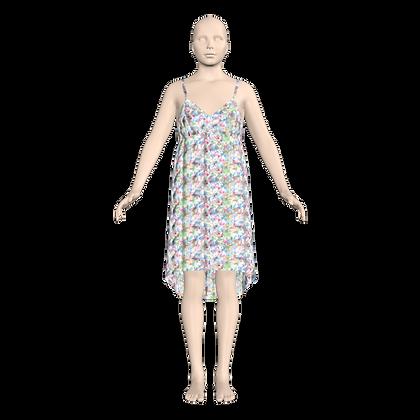 Karina Hi Lo Dress