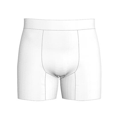 Men's Boxer Shorts Pattern