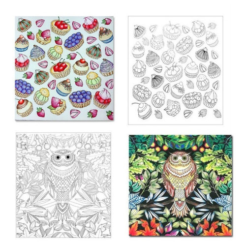 Set Of 5 Travel Size Coloring Books