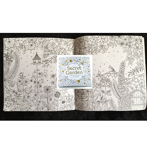 Travel Size Coloring Book