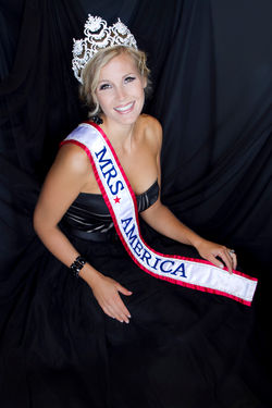 Mrs America Shelly Carbone