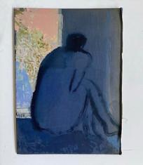 Figure By A Window