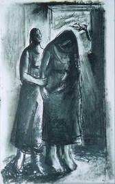 Naomi and Ruth II, 2002