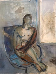 Figure by a Window 2020