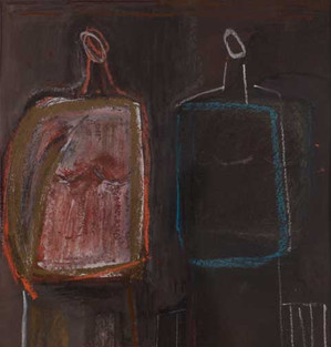 Composition with Two Figures, 2012
