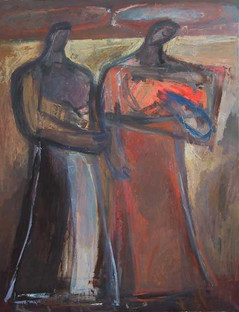 Naomi and Ruth II, 2004