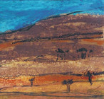 African Landscape II, 2002