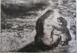 Mother and Child on the Beach, 2007
