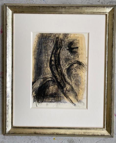 Icarus Falling in frame