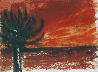 African Sunset, 2003