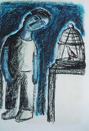 The Boy and the Bird III, 2002