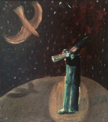 The Trumpet Player and the Bird, 2001