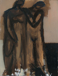 Composition with Two Figures, 2015