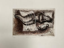 Sleeping Mother and Child SOLD