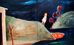 Running Away (Dyptich), 1997