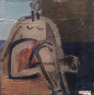 Sitting Figure, 2015