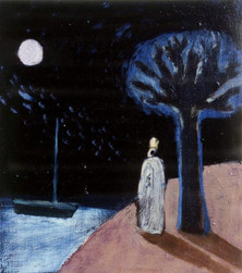The Lonely King, 2001 Oil on Canvas 25 x
