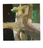 Falling Man , oil on canvas ,120 x 120 cm