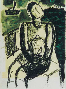 The Boy and the Bird III, 2003