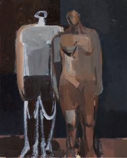 Study of Two Figures, 2016