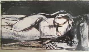 Reclining Nude I, 2001