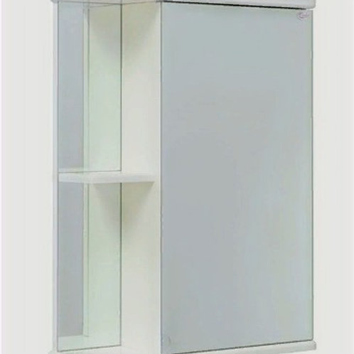 Шкаф-зеркало Карина 50.00 без подсветки универсальный