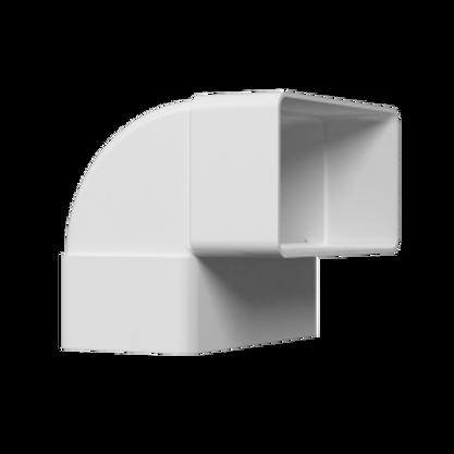 511КВП Колено вертикальное 90° для прямоугольных воздуховодов 55х110