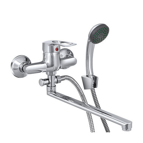 Смеситель для ванны универсальный, одноручный, Ц31