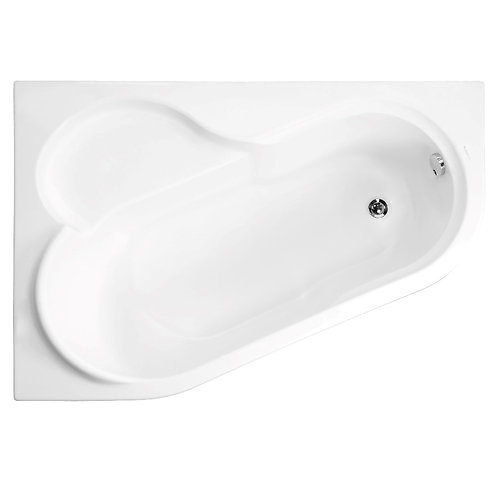 Акриловая ванна VAGNERPLAST SELENA 147 Left