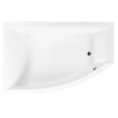 Акриловая ванна VAGNERPLAST VERONELA OFFSET 160 Left