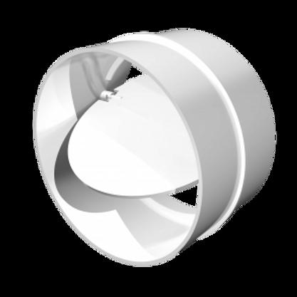 16СКПО Соединитель круглых воздуховодов с обратным клапаном Ø160