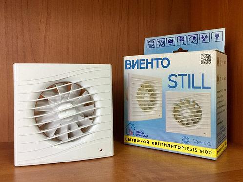 Вентилятор осевой, вытяжной, тяговый выключатель, ВИЕНТО 100 СВ STILL (130 м 3)