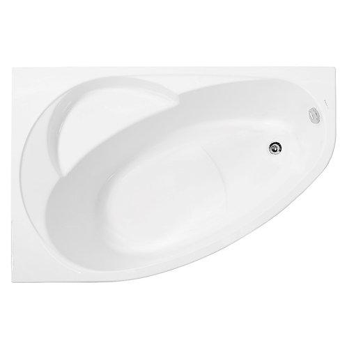 Акриловая ванна VAGNERPLAST FLORA 150 left