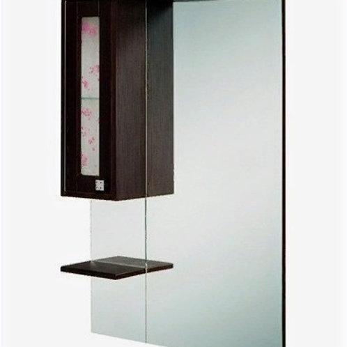 Шкаф-зеркало Сакура 70.101 венге шелк правый