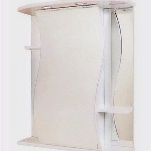 Шкаф-зеркало Лилия 65.02 правый