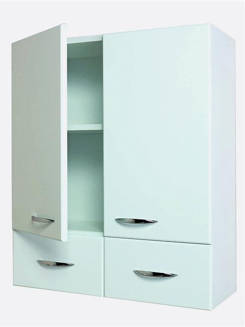 Шкаф двухдверный  КРЕДО 60.2 (с 2 ящ.)