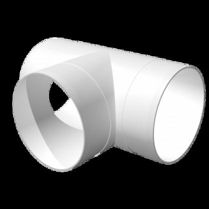 12,5ТП тройник круглый пластмассовый Ø125